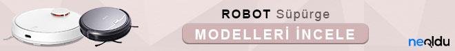 Robot Süpürge Modelleri
