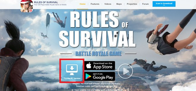 rules of survival asia maintenance