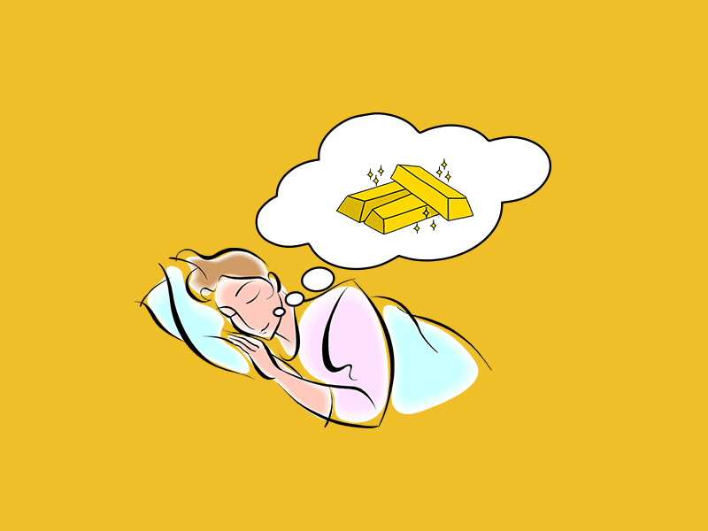 rüyada altın