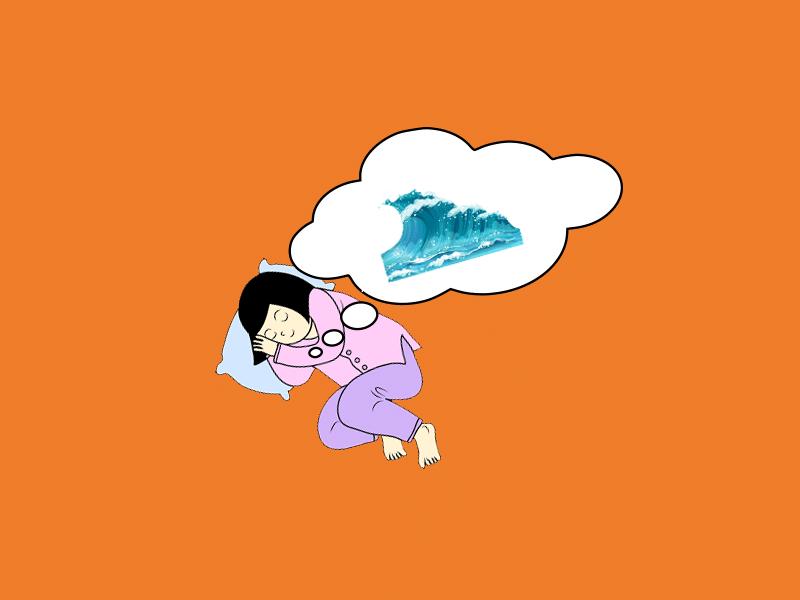 rüyada deniz