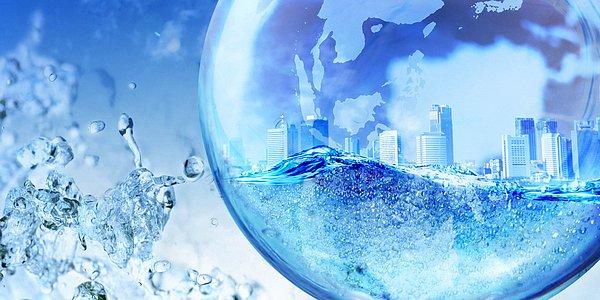 dünyanın %70'i sularla kaplıdır