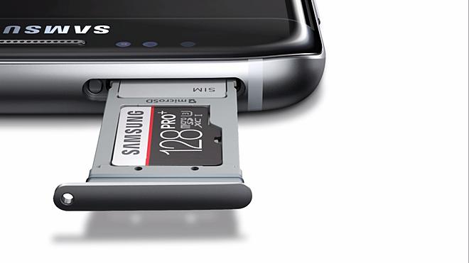 Samsung Galaxy S7 MicroSD kart