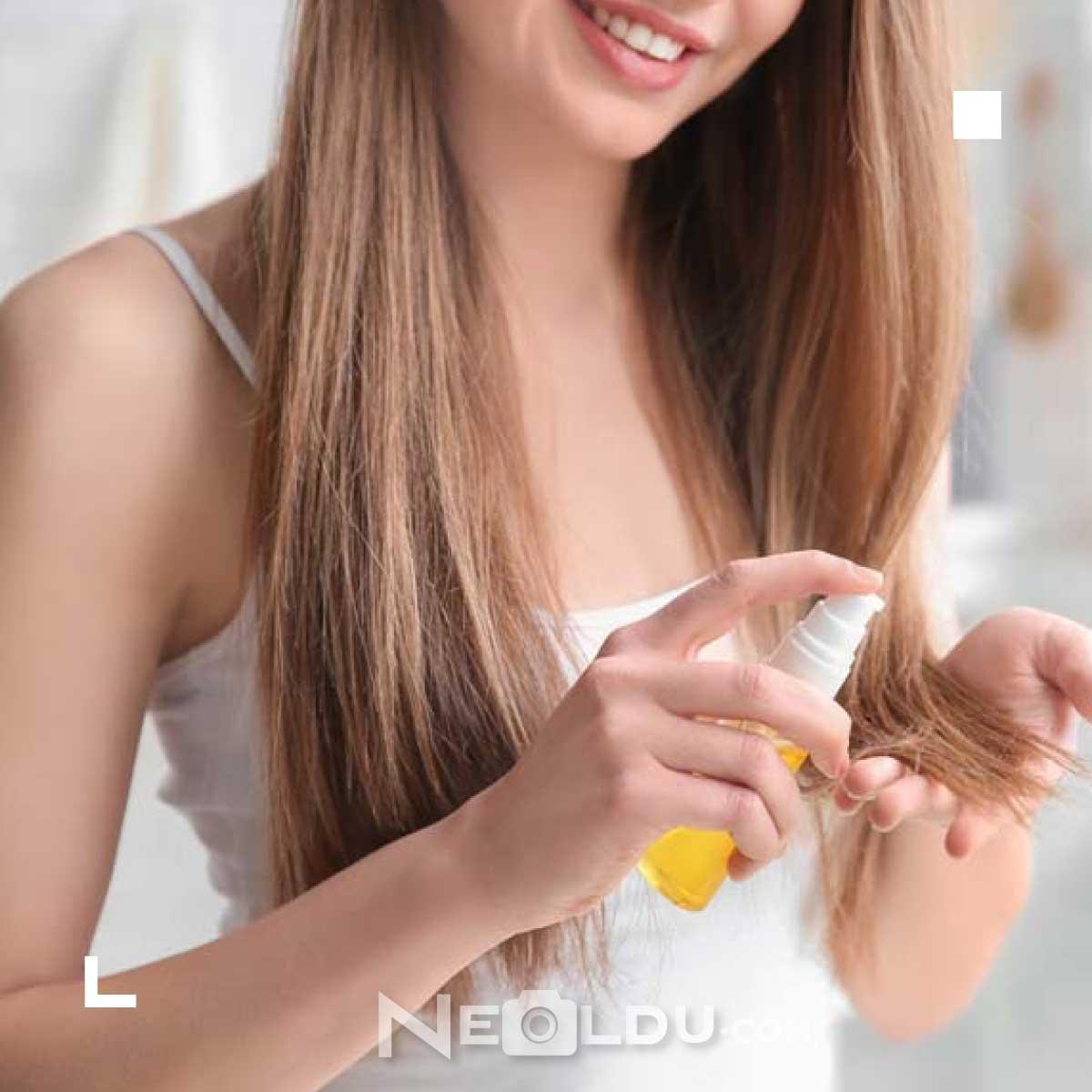 saç güçlendirici bakım yağları