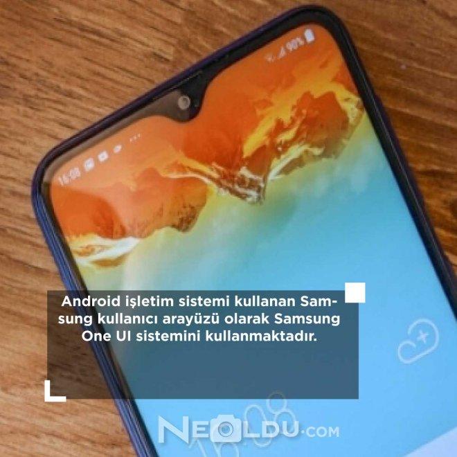 Samsung Galaxy A11 özellik