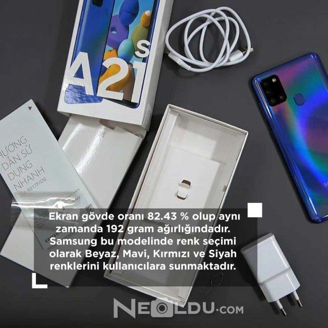 Samsung Galaxy A21s inceleme