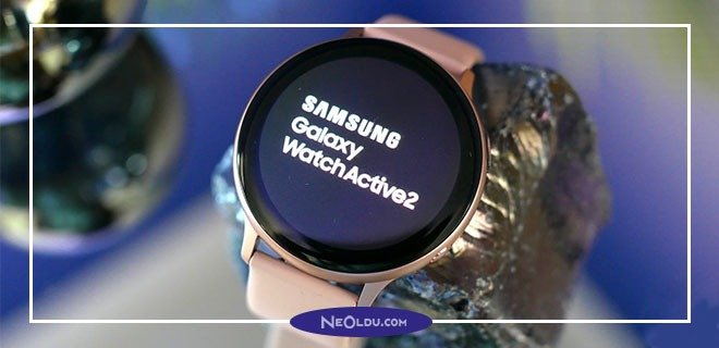 Samsung Galaxy Watch Active 2 Servis ve Uygulamaları