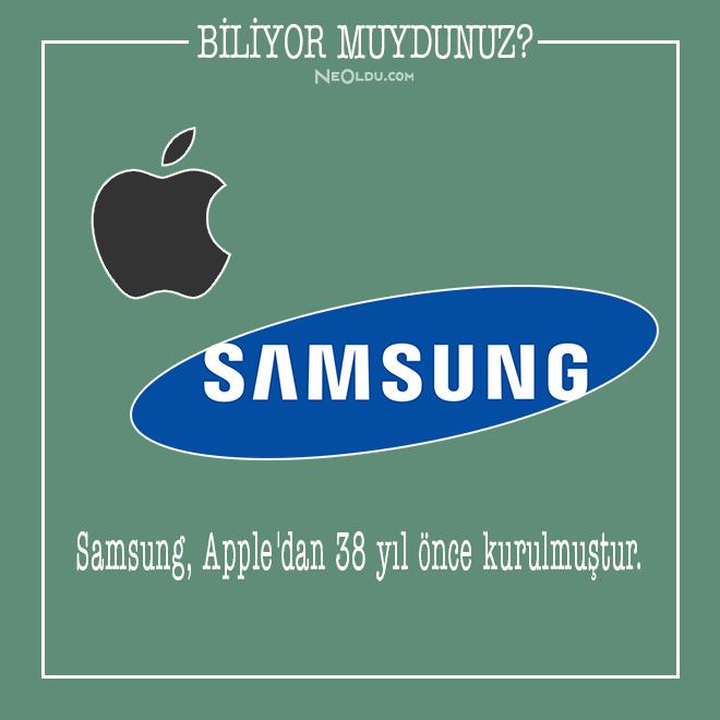 Samsung Hakkında Bilinmeyen İlginç Bilgiler