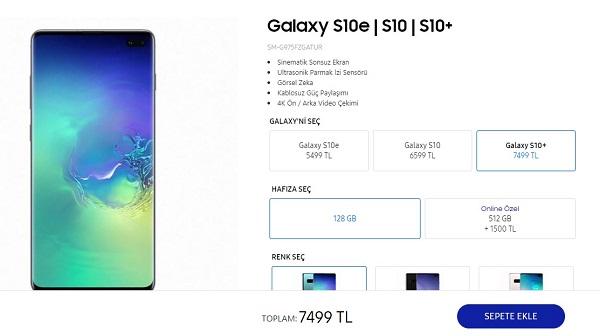Samsung Yeni Telefonu Galaxy S10+ Plus Özellikleri ve Fiyatı