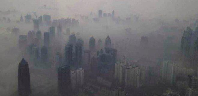 şangayda hava kirliliği