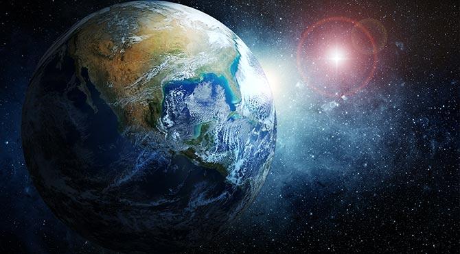 yeryüzünde ki yaşam merkezi dünya
