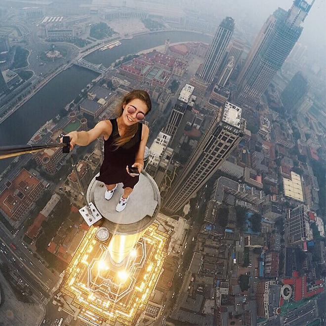 Selfie Çubuğuyla Cesur Çekim