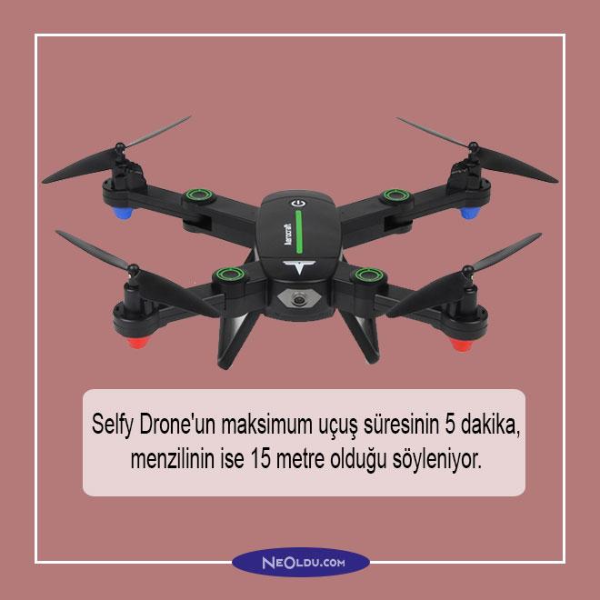 Selfy Drone hakkında bilgi