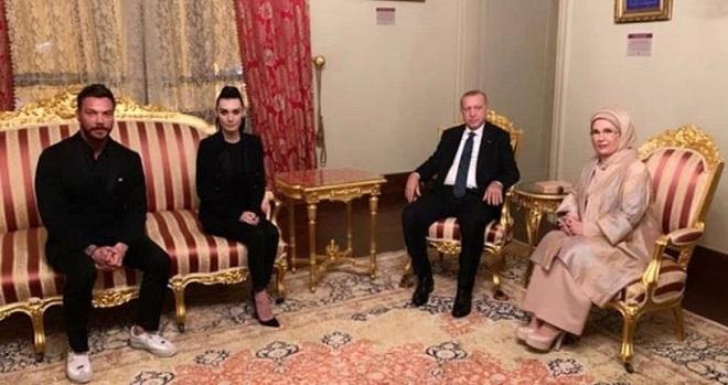 Sinan Akçıl Burcu Kıratlı Recep Tayyip Erdoğan