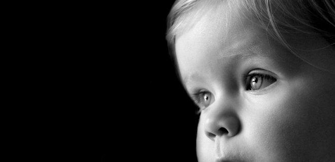 siyah beyaz bebek profili