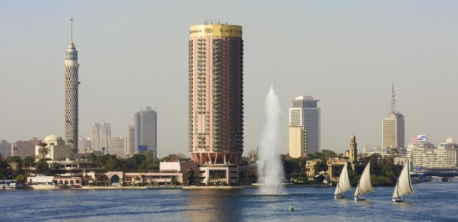 sofitel cairo nile el Gezirah hotel mısır