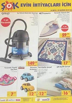 şok aktüel ürünler kataloğu 30 mayıs 2018