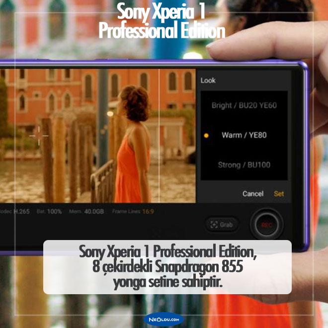 Sony Xperia 1 Professional Edition