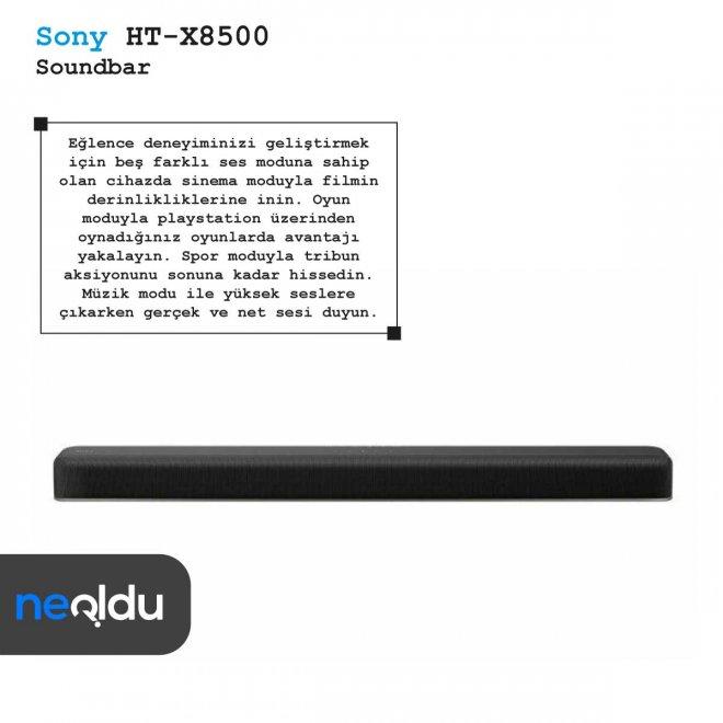 SonyHT-X8500 SoundBar