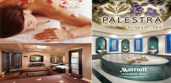 Anadolu Yakası Spa Merkezleri-Marriot Hotel