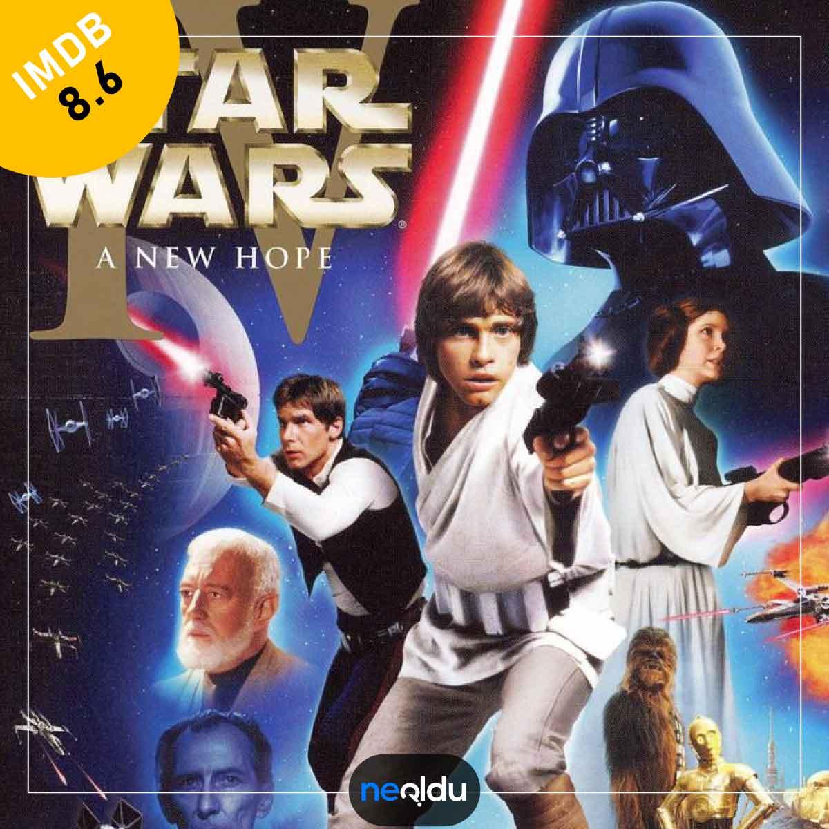 Star wars filmleri serisi