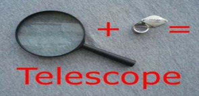 teleskop malzemeler