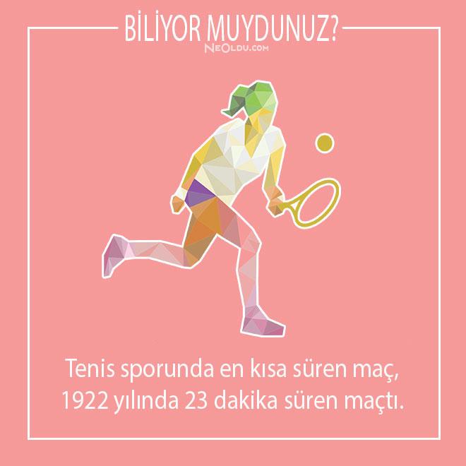 tenis hakkında kısa bilgi