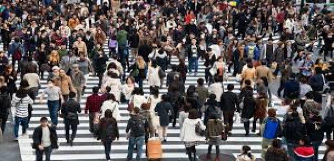 kalabalık şehir