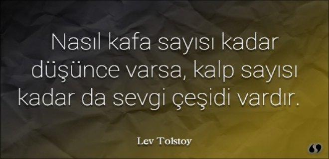 En Güzel Tolstoy Sözleri Lev Tolstoy Kitap Alıntı Sözleri