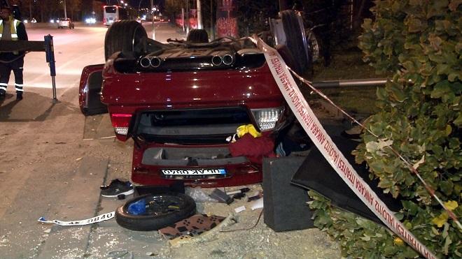 Trafik kazası ankara