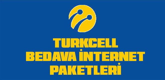 turkcell bedava interneti paketi