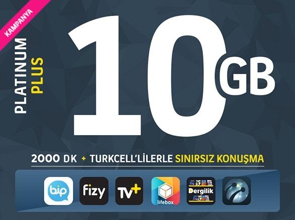 Turkcell paketleri tarifeleri kampanyaları