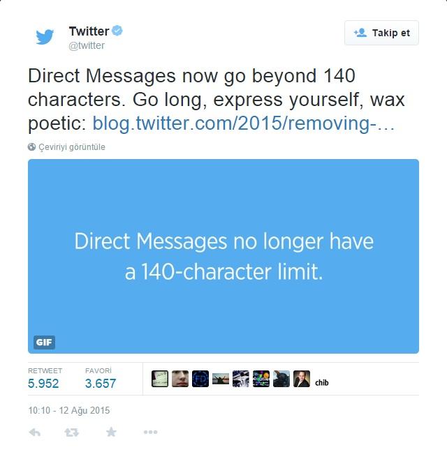 Twitter Açıklama