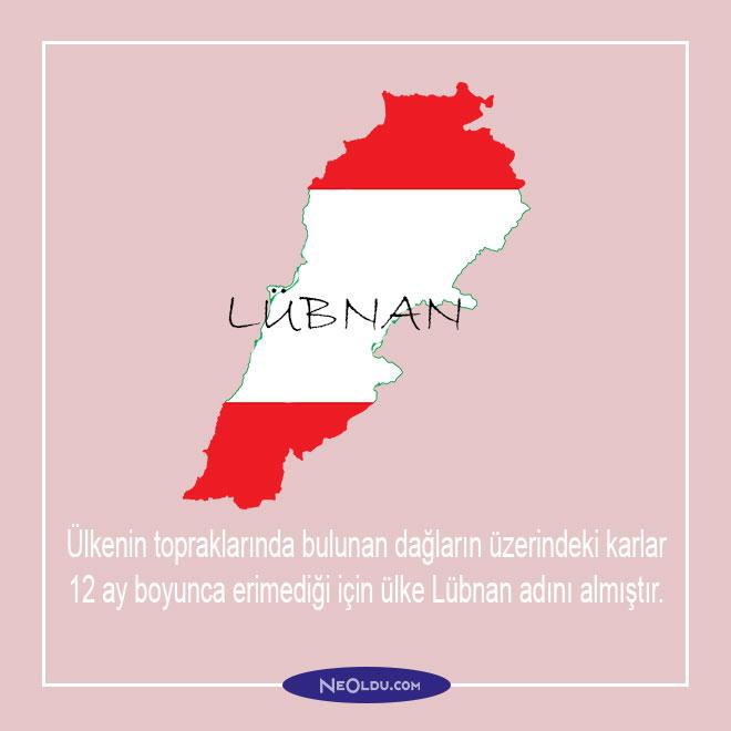 lübnan anlamı nedir