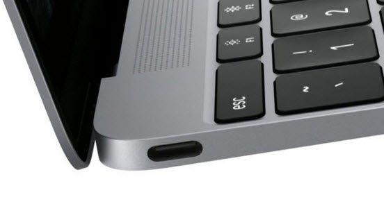 USB Type-C Bilgisayar Girişi