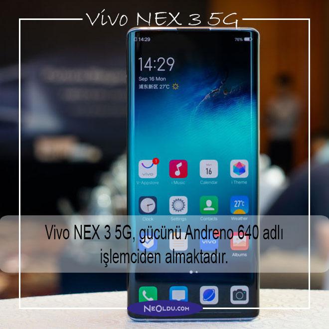 Vivo NEX 3 5G Özellikleri ve İnceleme