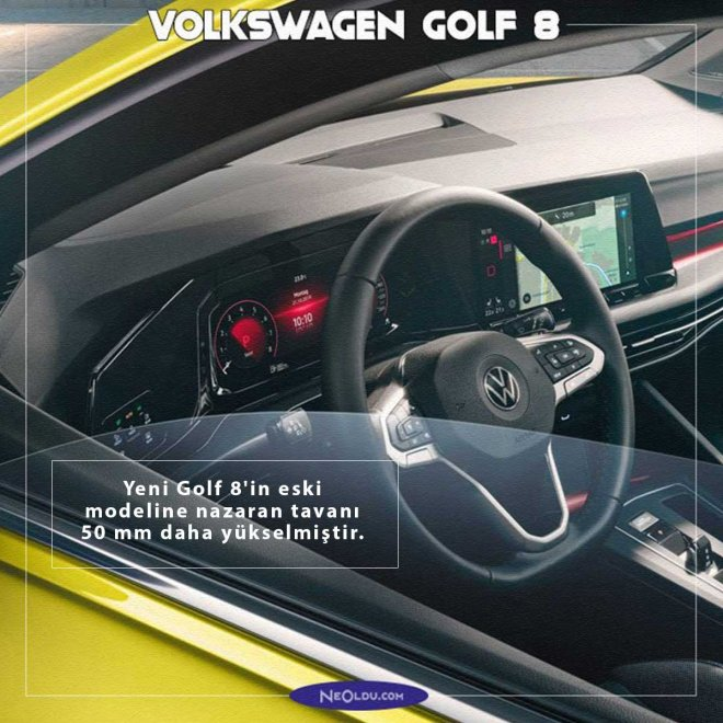 volkswagen golf 8 inceleme
