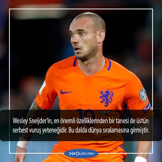 wesley sneijder hakkında bilgi
