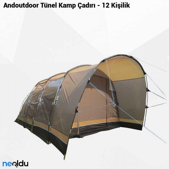 Andoutdoor Tünel Kamp Çadırı