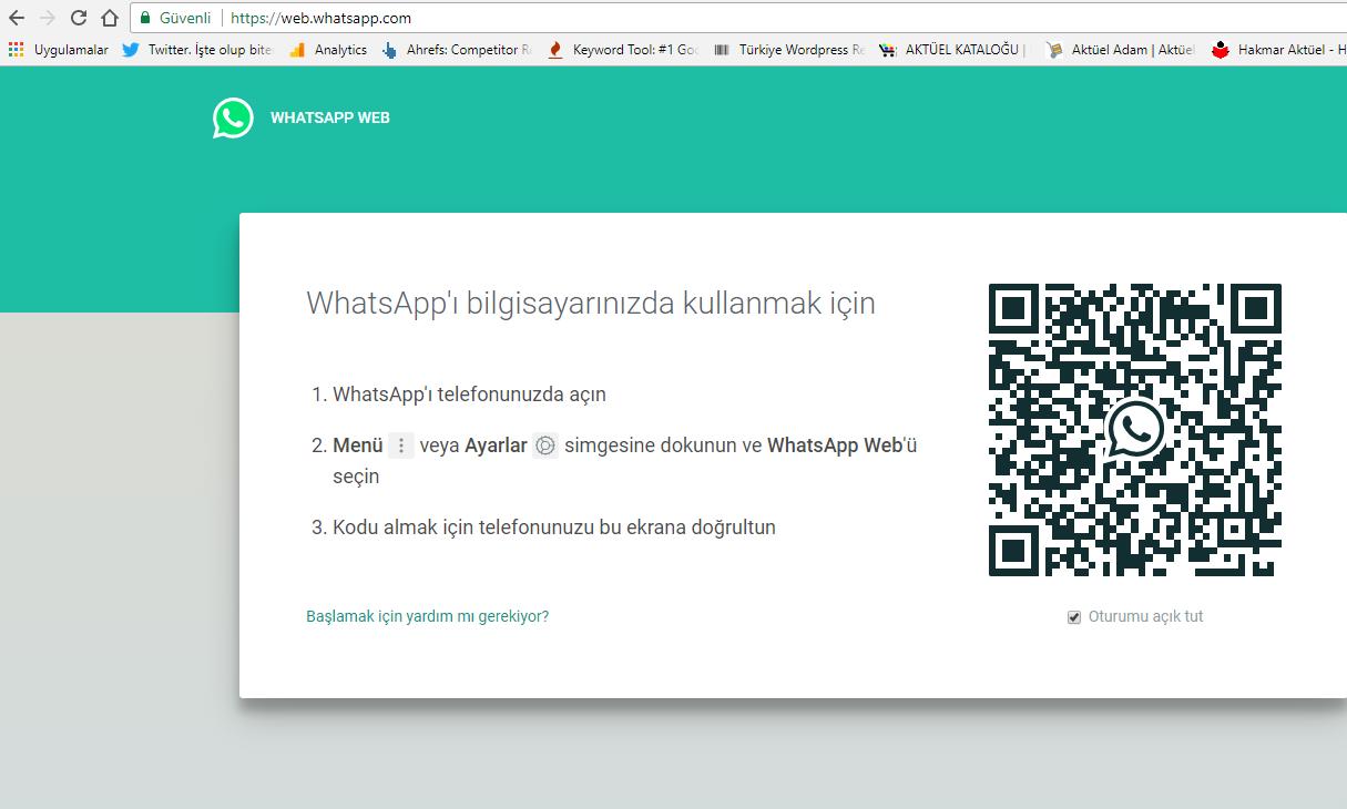 bilgisayara ücretsiz whatsapp indir