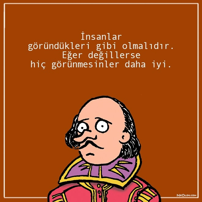 william shakespeare sözleri