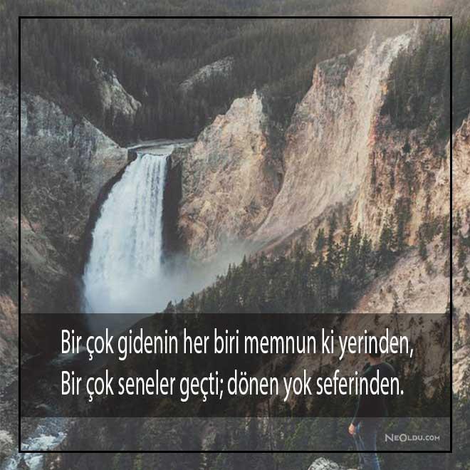 Yahya Kemal Beyatlı Sözleri