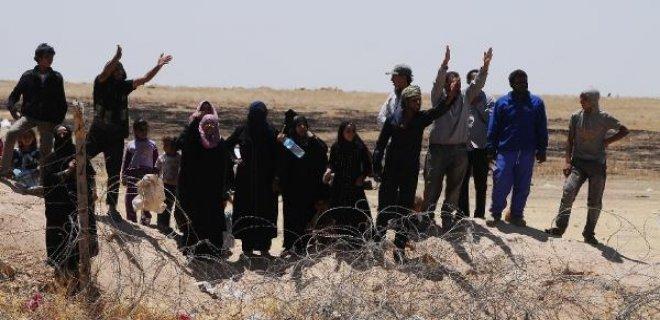 sınırda isyan eden insanlar