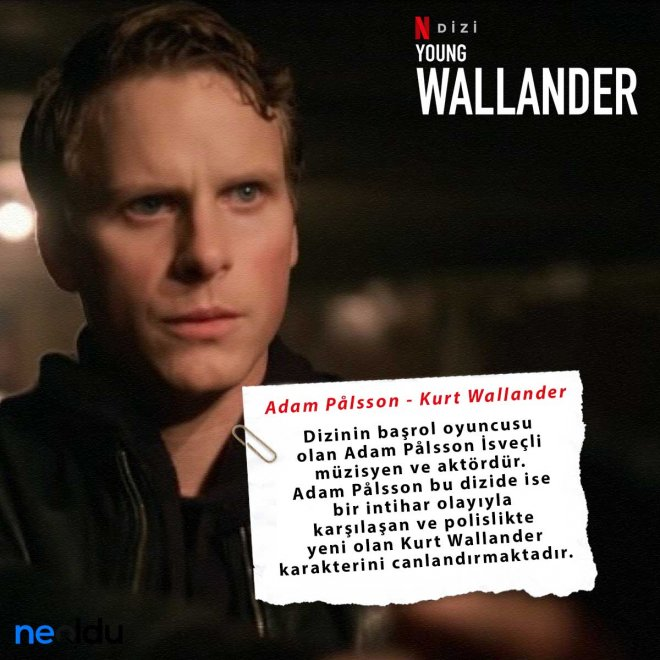 young wallander kurt wallander