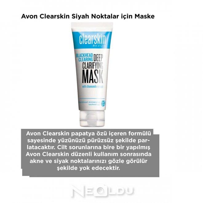 Avon Clearskin Siyah Noktalar için Maske