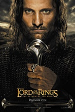 the lord of the rings return of the king poster