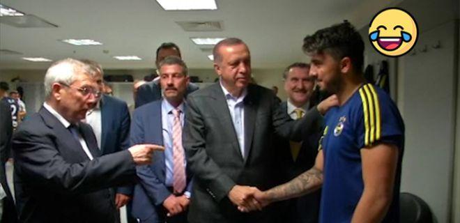 Cumhurbaşkanı Erdoğan Kırdı Geçirdi